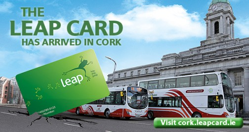 Leap Card has arrived in Cork