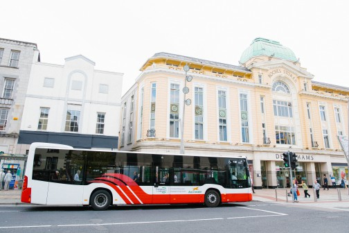 Passenger journeys on Bus Éireann Cork network up by almost 800,000 in 2016