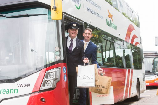 Get straight to the Point with Bus Éireann this summer. New terminus and boost in services at Mahon Point SC
